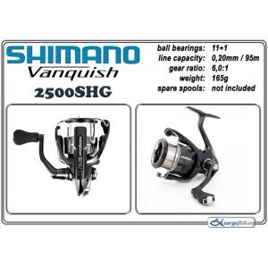 Катушка SHIMANO VANQUISH - 2500SHG