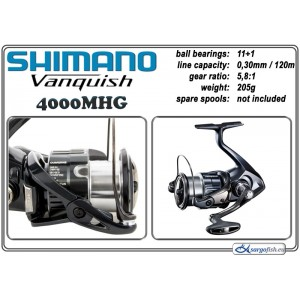 Катушка SHIMANO VANQUISH - 4000MHG
