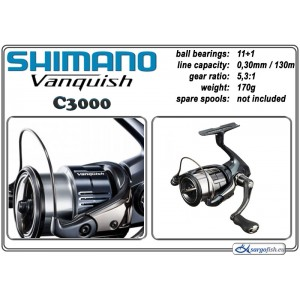Катушка SHIMANO VANQUISH - C3000