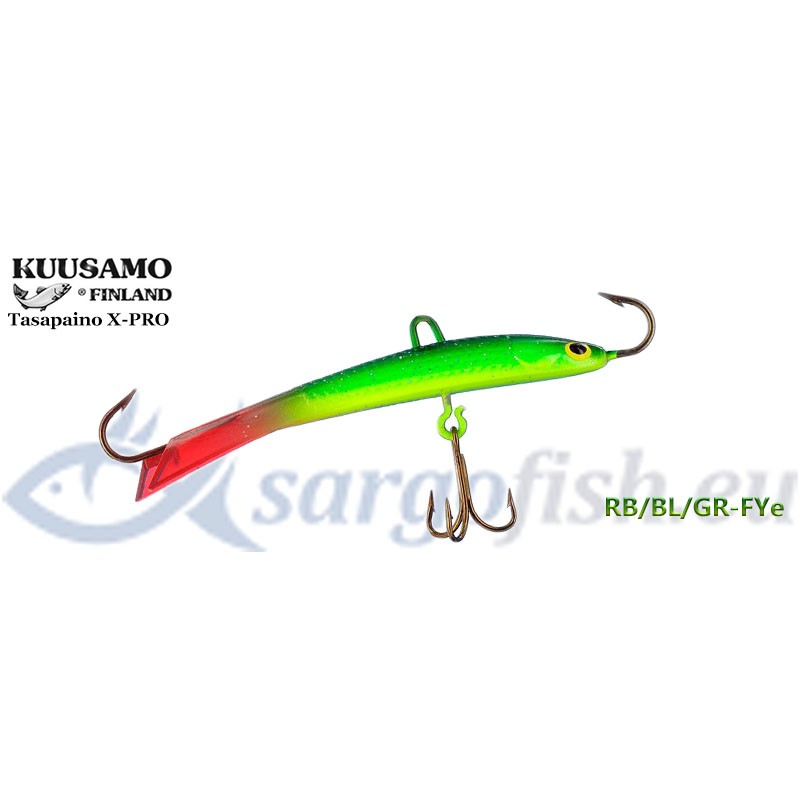 Балансир KUUSAMO Tasapaino X-PRO 75 - RB/BL/GR-FYe