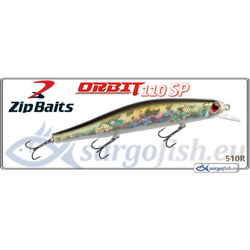 Воблер ZIP BAITS Orbit 110SP - 510R