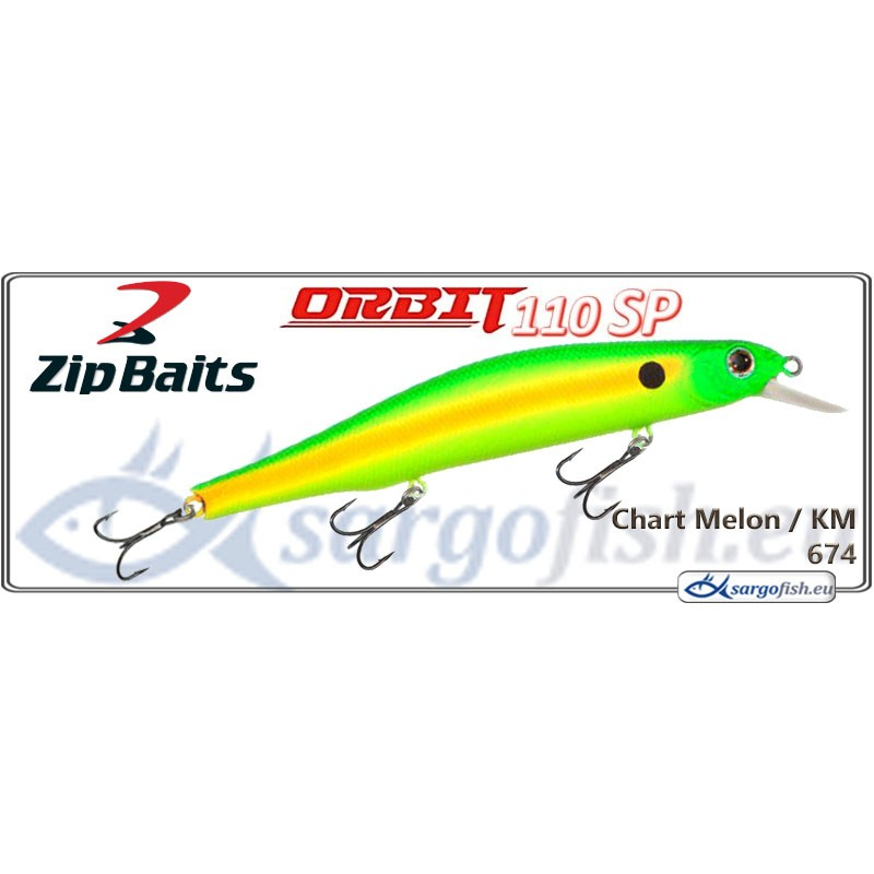Воблер ZIP BAITS Orbit 110SP - 674