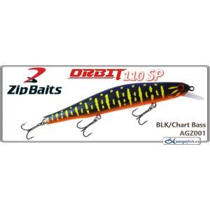 Воблер ZIP BAITS Orbit 110SP - AGZ001
