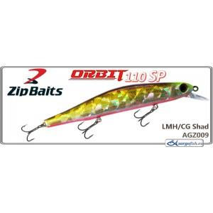 Воблер ZIP BAITS Orbit 110SP - AGZ009