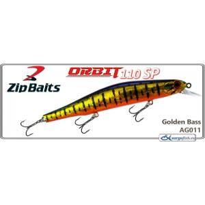 Воблер ZIP BAITS Orbit 110SP - AGZ011