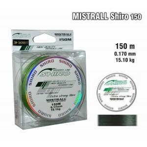 Плетеная леска MISTRALL Shiro gr - 0.17