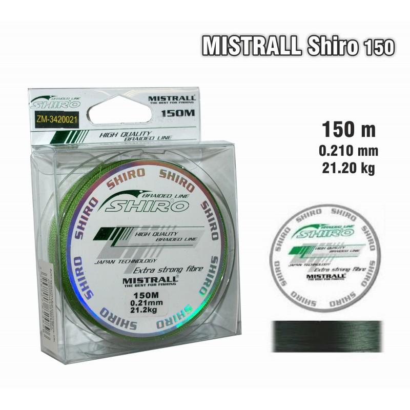 Плетеная леска MISTRALL Shiro gr - 0.21