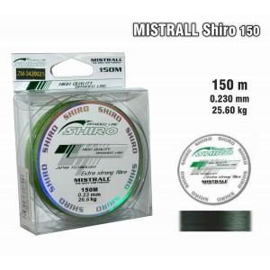 Плетеная леска MISTRALL Shiro gr - 0.23