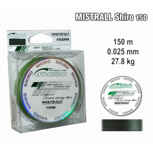 Плетеная леска MISTRALL Shiro gr - 0.25