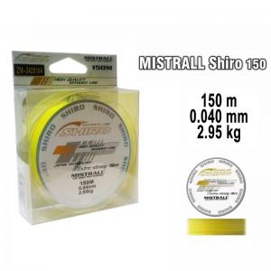 Плетеная леска MISTRALL Shiro yel - 0.04