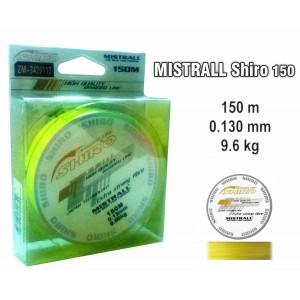 Плетеная леска MISTRALL Shiro yel - 0.13