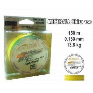 Плетеная леска MISTRALL Shiro yel - 0.15