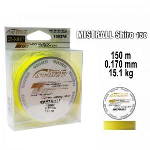 Плетеная леска MISTRALL Shiro yel - 0.17
