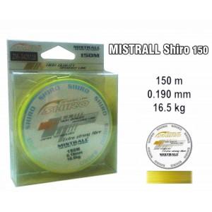 Плетеная леска MISTRALL Shiro yel - 0.19