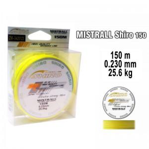 Плетеная леска MISTRALL Shiro yel - 0.23