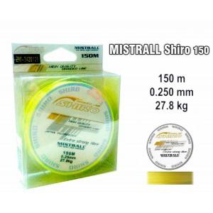 Плетеная леска MISTRALL Shiro yel - 0.25