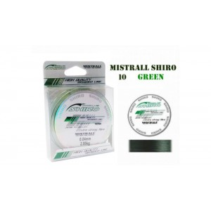Плетеная леска MISTRALL Shiro gr - 0.04