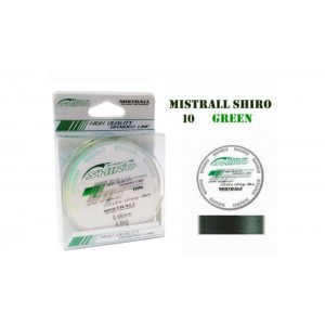 Плетеная леска MISTRALL Shiro gr - 0.06