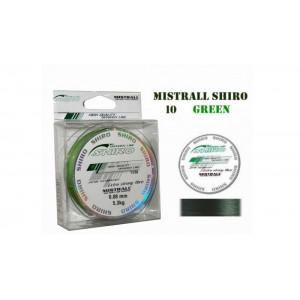Плетеная леска MISTRALL Shiro gr - 0.08