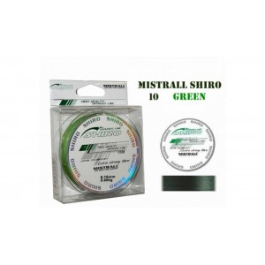 Плетеная леска MISTRALL Shiro gr - 0.10