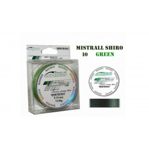 Плетеная леска MISTRALL Shiro gr - 0.15