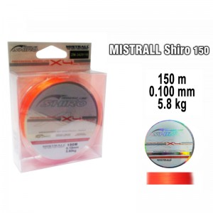 Плетеная леска MISTRALL Shiro or - 0.10