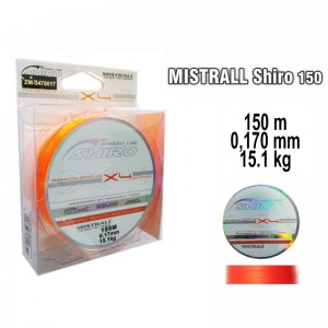 Плетеная леска MISTRALL Shiro or - 0.17