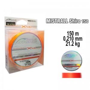 Плетеная леска MISTRALL Shiro or - 0.21