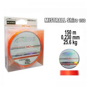 Плетеная леска MISTRALL Shiro or - 0.23